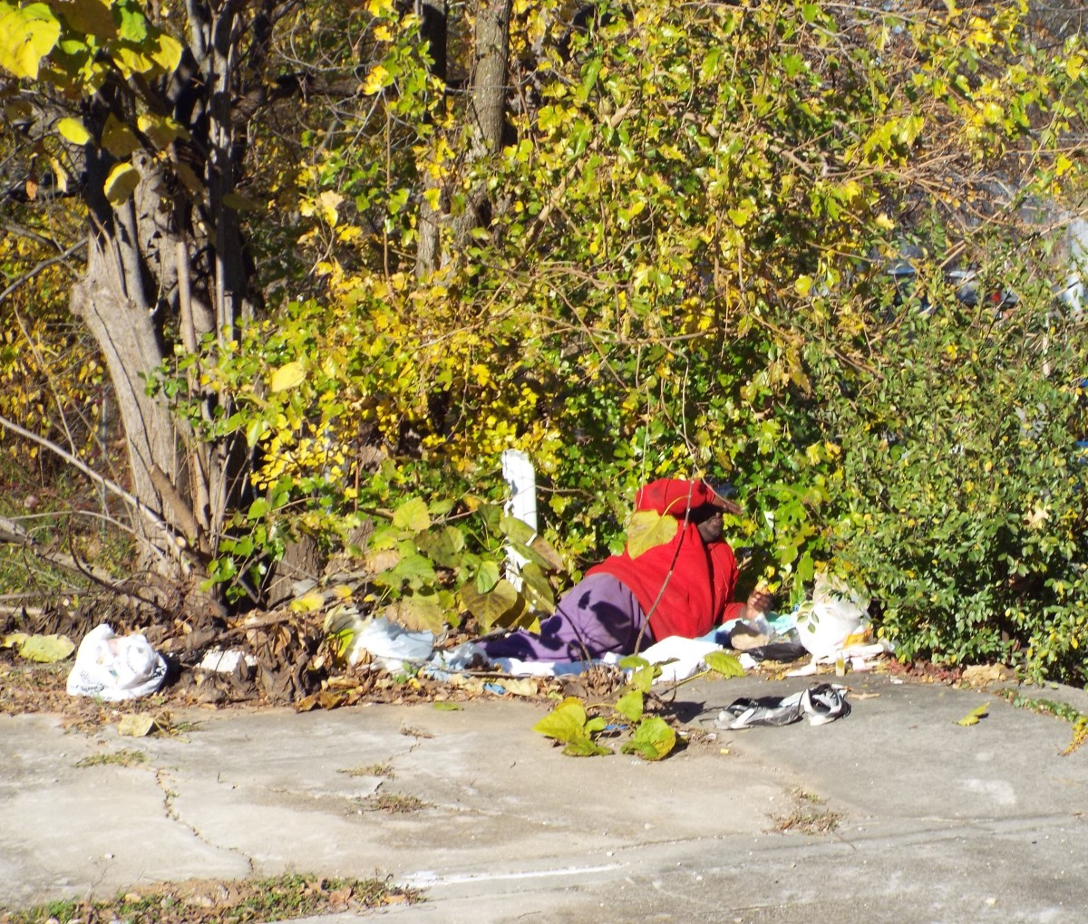 Just One Picture of Homelessness